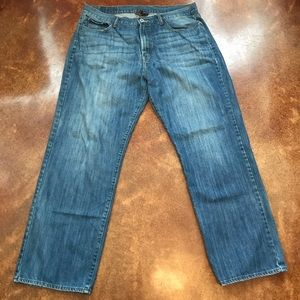 Lucky Brand Straight Leg Jeans Sz 38